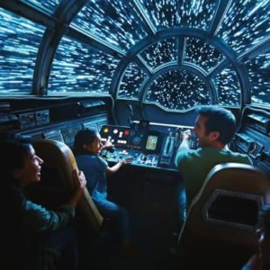 Inside Millennium Falcon: Smugglers Run at Star Wars: Galaxys Edge