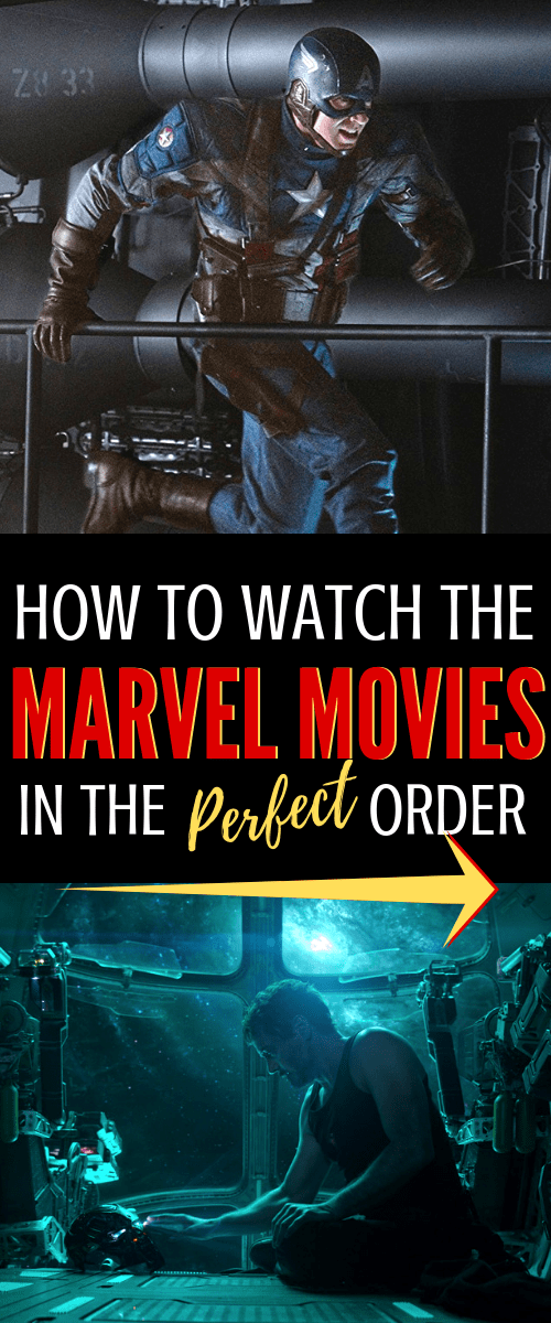 best way to watch the Marvel movies in order