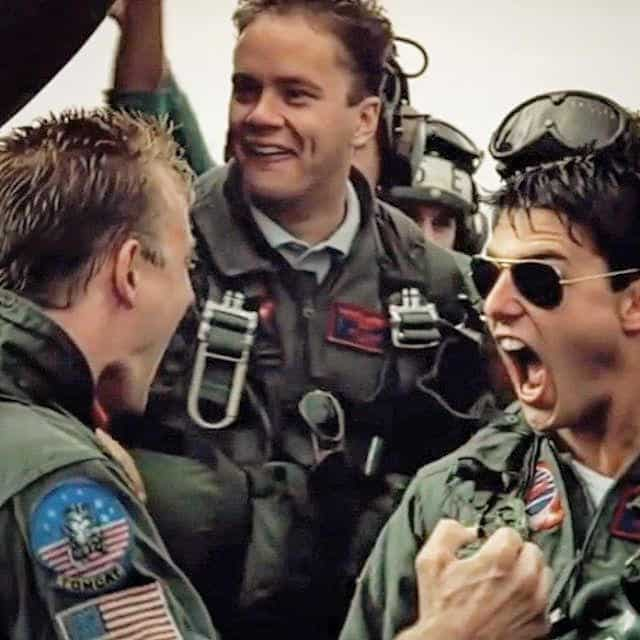 I've Found That Loving Feeling: A Running Story In Top Gun Gifs