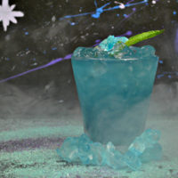 Avengers Tesseract Mocktail | Super Hero Drink Recipe