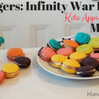 Avengers: Infinity War Inspired Keto Approved Macaron Recipe with Video!