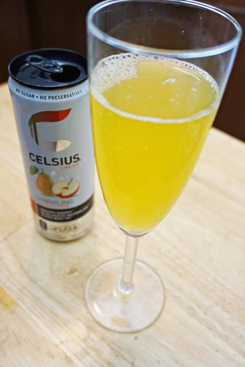 celesius fit live energy drink