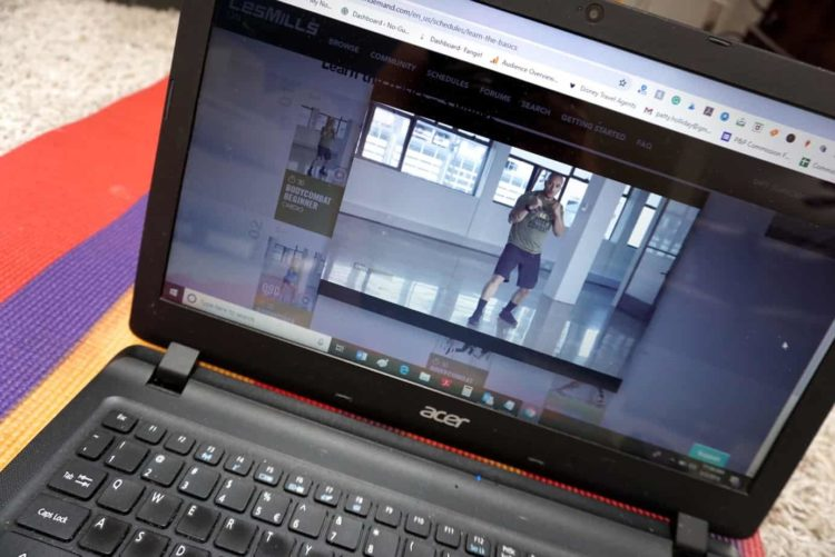 les mills on demand streaming service
