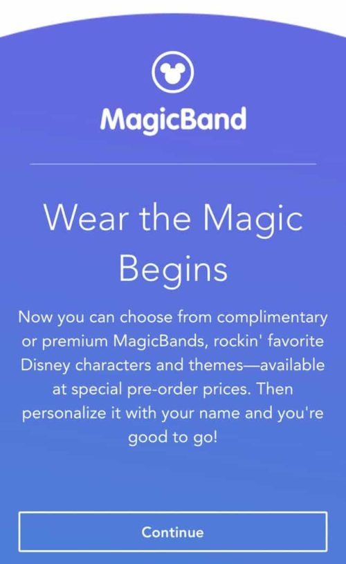 MagicBand Upgrade Steps