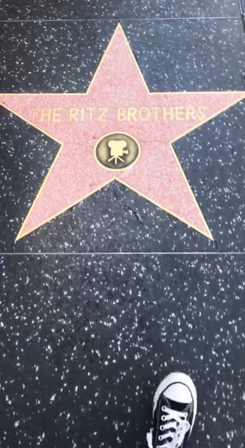 the ritz brothers star hollywood walk of fame pretty woman turf quote