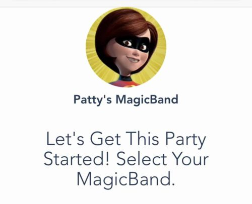 MagicBand Upgrade Steps