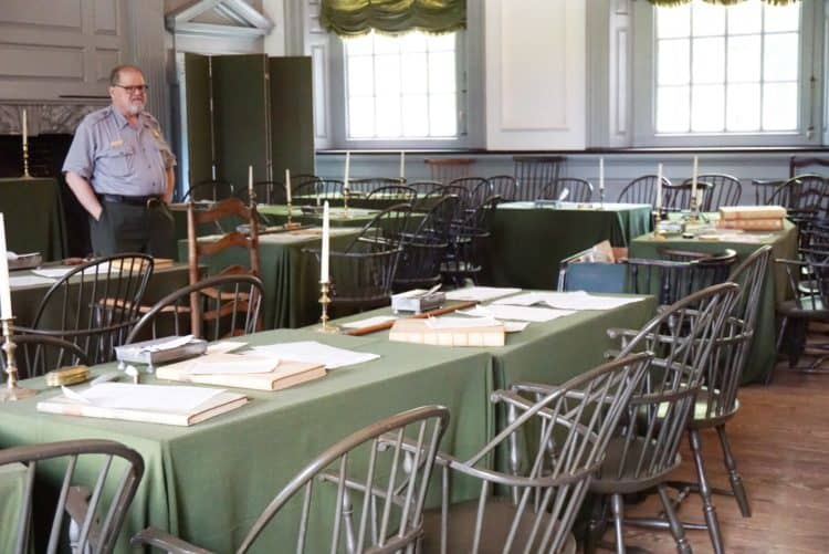 Independence Hall Tour in Philadelphia