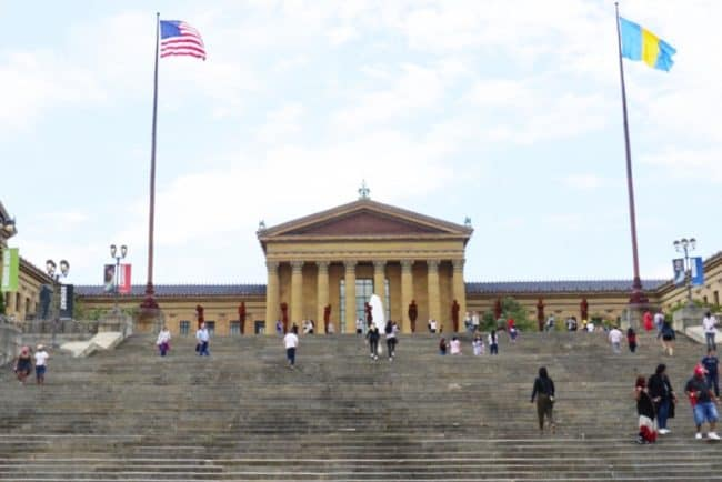 A Must Do Stop one day in Philadelphia tour: The Rocky Steps
