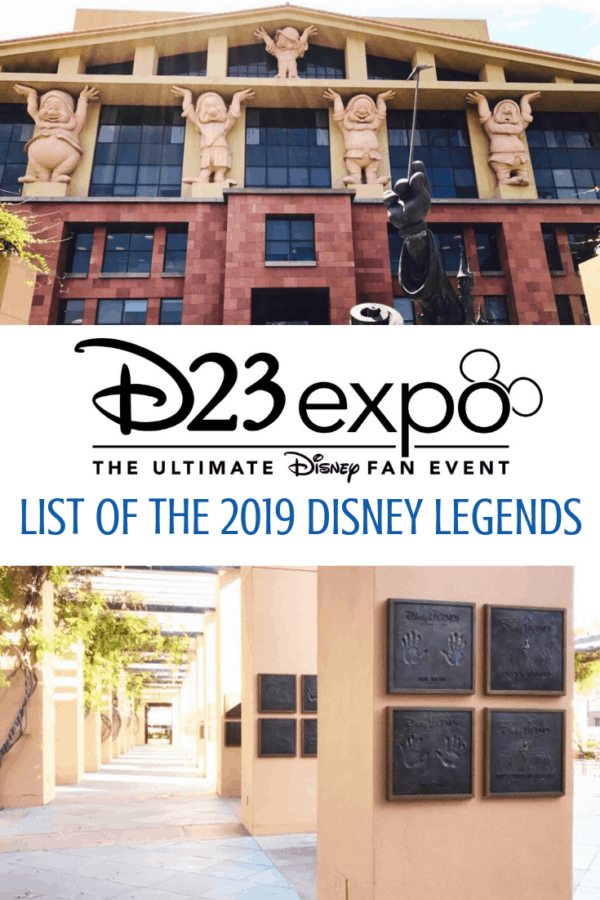 Disney legends ceremony honoree list