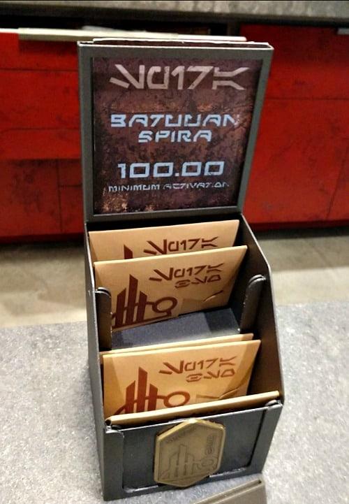 gift card from batuu in galaxy's edge