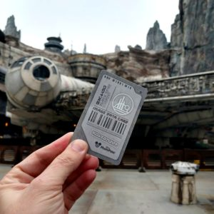 free in star wars galaxys edge photopass card called data image collection card