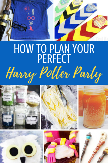 harry potter birthday ideas