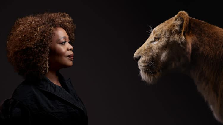 THE LION KING Alfre Woodard and Sarabi.