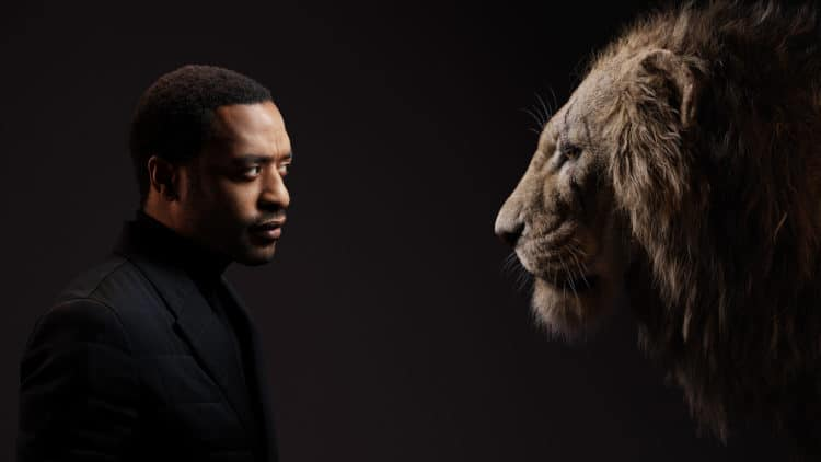 THE LION KING Chiwetel Ejiofor and Scar.