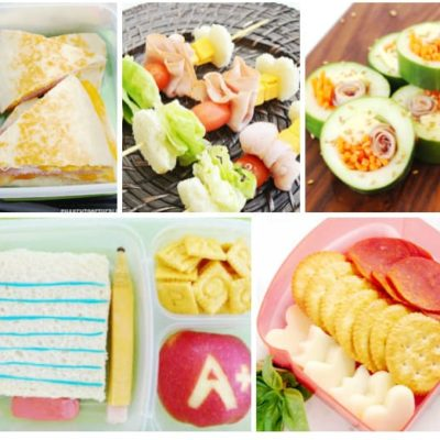 Beyond The Sandwich: Back To School Lunch Ideas