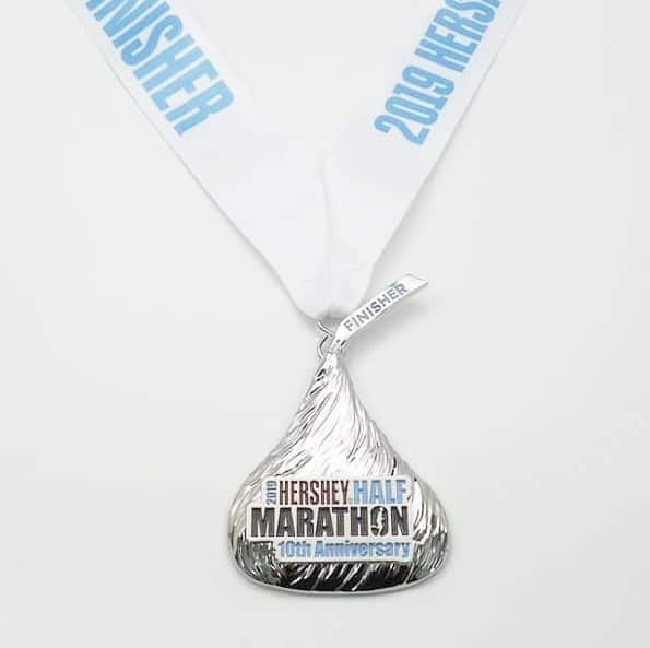 2019 Hershey Half Marathon Medal