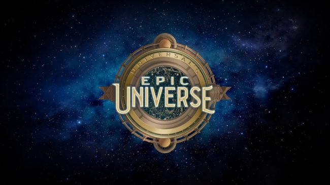 Universal Epic Universe Logo New Park at Universal Orlando