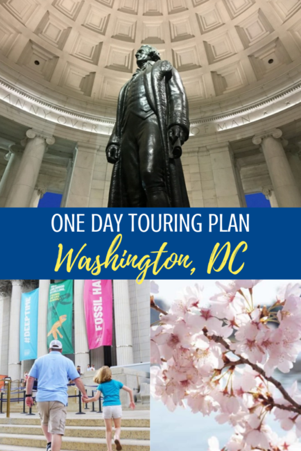 one day touring plan washington dc