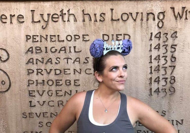 Haunted Mansion Halloween Mickey ears headbands