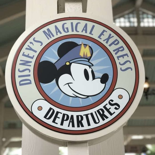 Disneys Magical Express sign