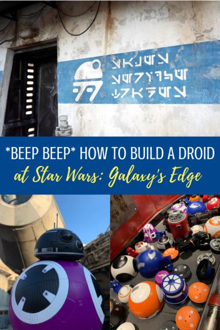 build a droid at galaxys edge