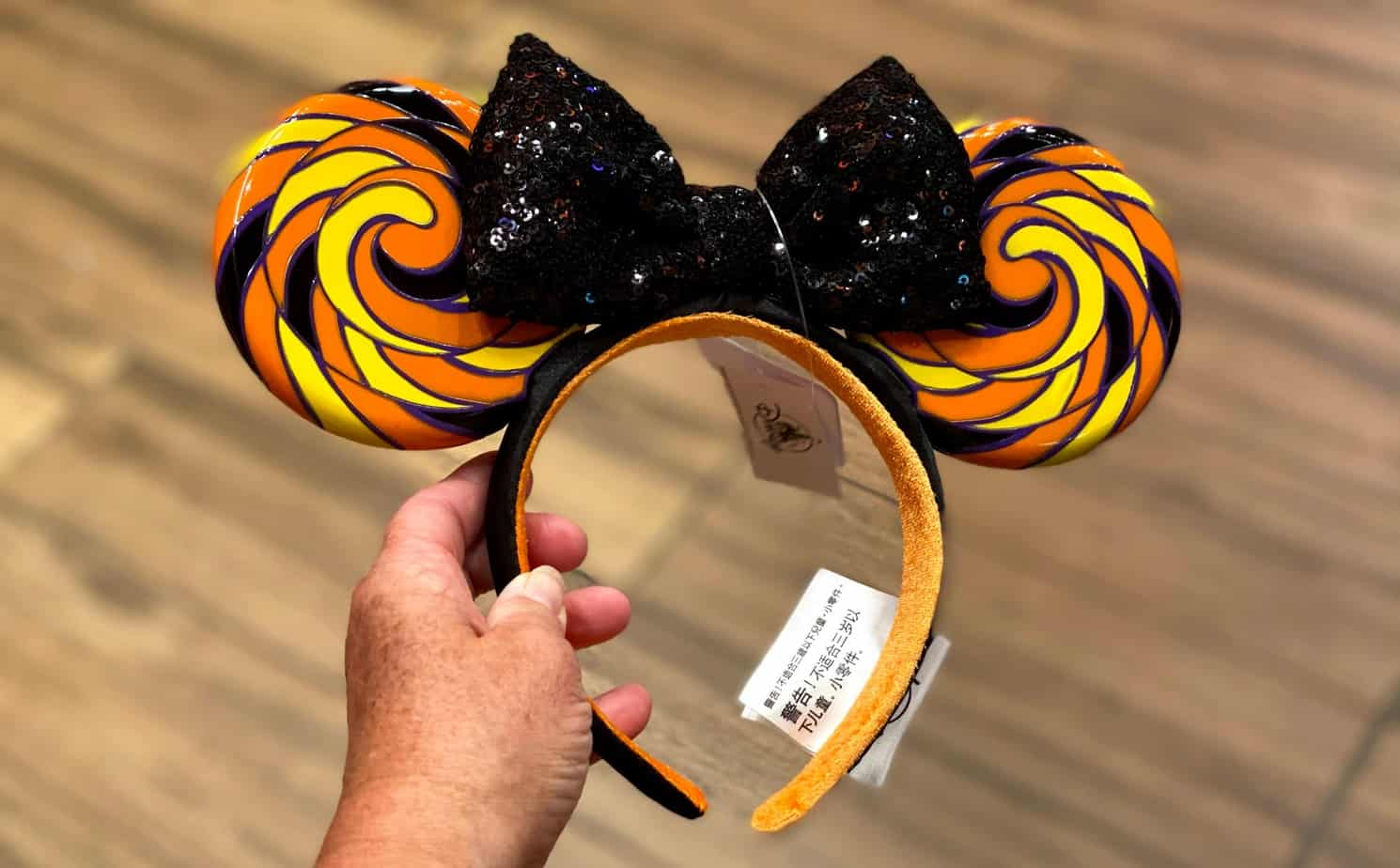 Disney halloween minnie ears lollipop ears