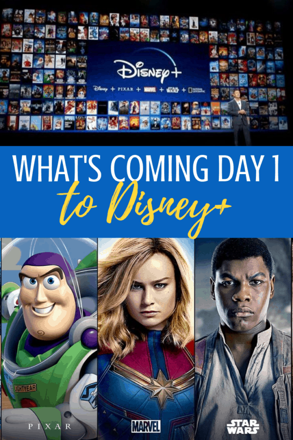Disney Plus Day 1 list of what's coming on launch day