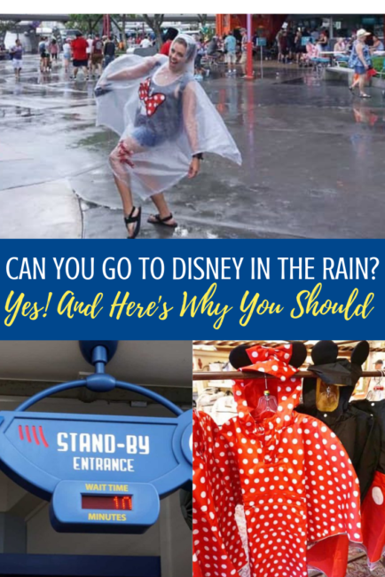 Can you go to Disney in the rain