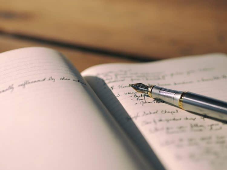 Journaling to help you sleep