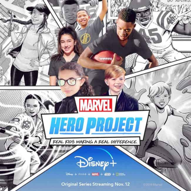 marvels hero project coming to disney plus