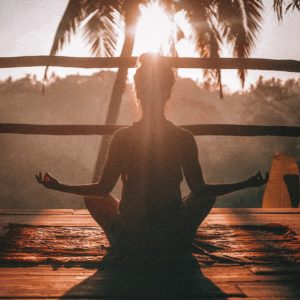 yoga is a relaxation step to help you sleep