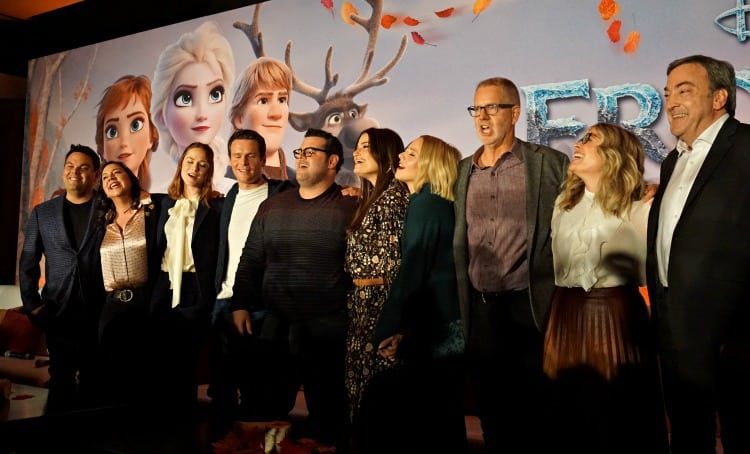 Cast of Frozen 2 Press Junket Hollywood, CA