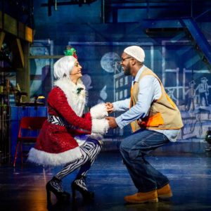 angel and tom in RENT at the National Theatre in DC