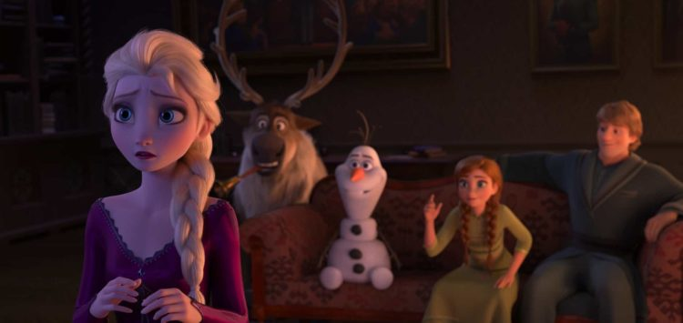 Frozen 2 elsa, sven , olaf, anna and kristoff