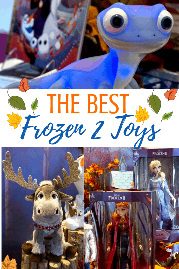 Frozen 2 toy list