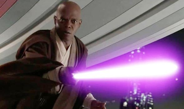 Mace Windu is a jedi voice at the end of Rise of Skywalker