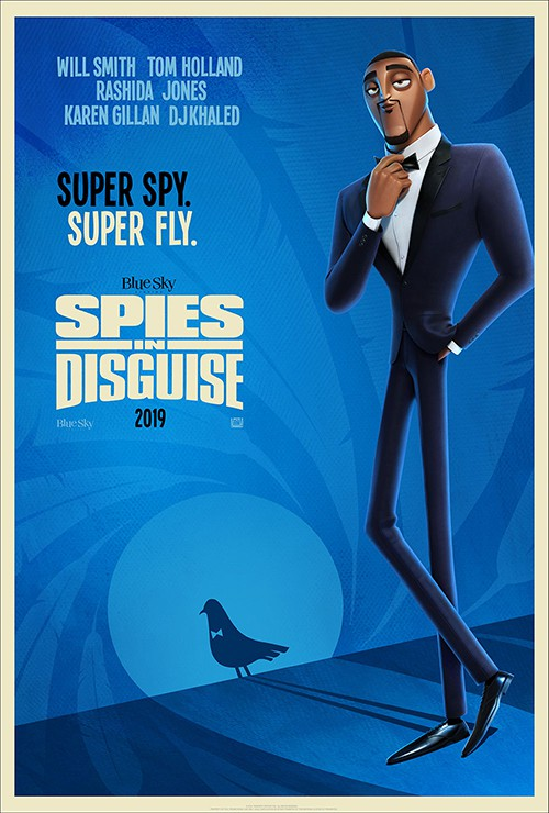 lance sterling spies in disguise poster