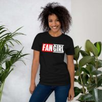 Marvelous Fangirl Black/Grey/Navy Short-Sleeve Unisex Slim T-Shirt