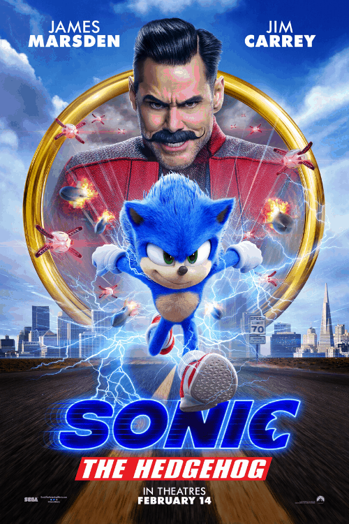 Sonic movie quotes poster of sonic the hedgehog