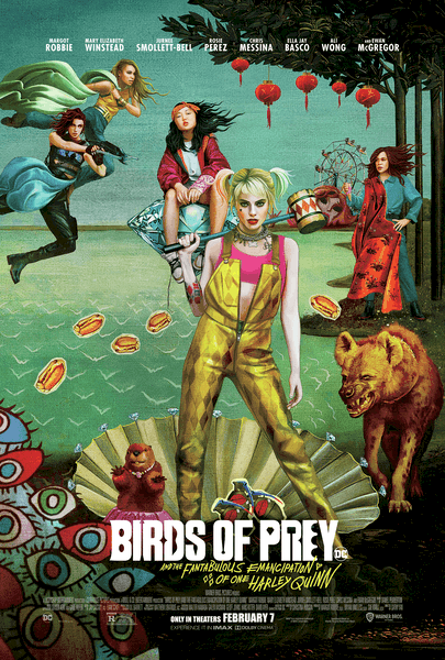 Birds of prey poster- Harley Quinn quotes DC