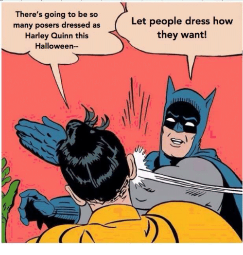 harley quinn memes halloween batman and robin