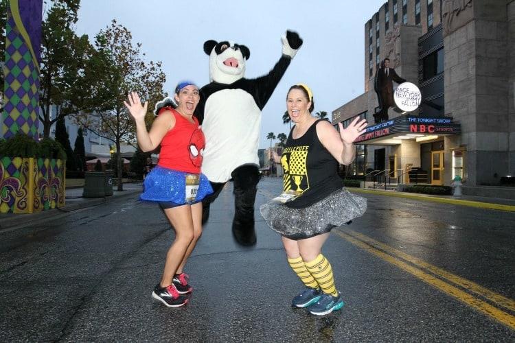 hashtag the panda running universal orlando characters