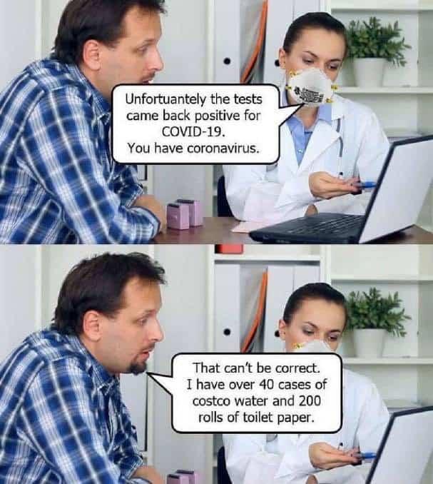 memes about toilet paper in 2020 coronavirus