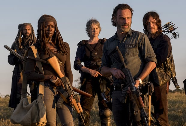the walking dead movies and tv dealing with infections and viruses