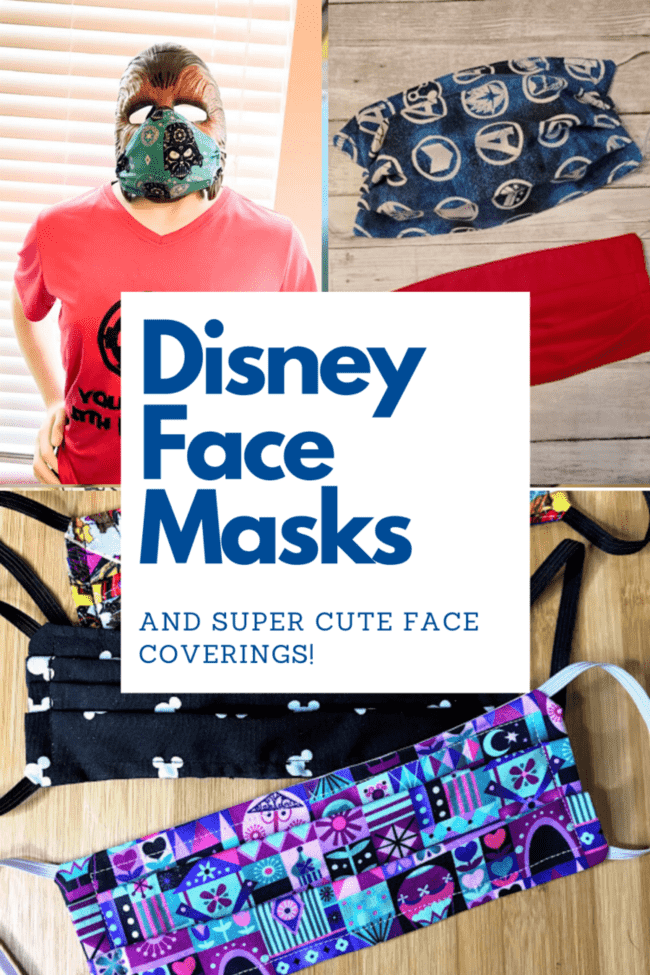 Disney Face Masks and Disney Face Coverings