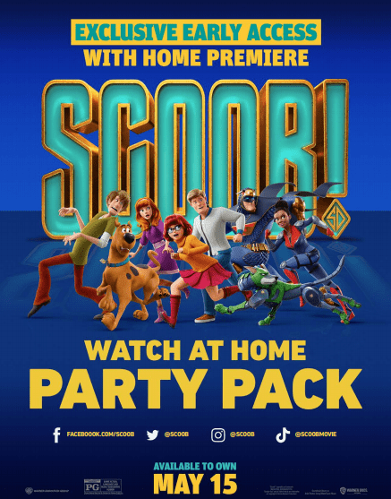 SCOOB family movie night activity pack