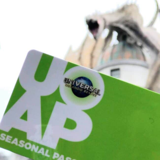 universal annual pass in diagon alley