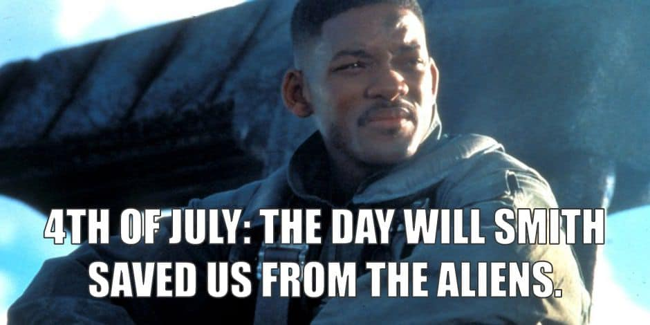 4th of july memes will smith