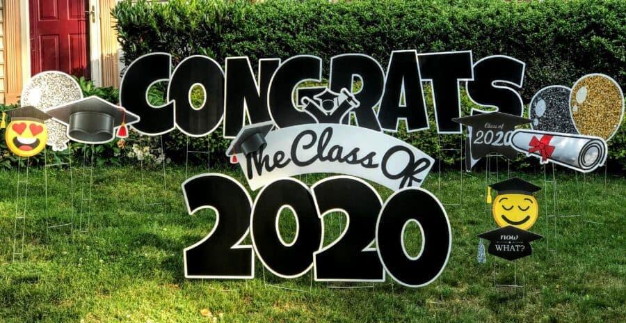 northern virginia congrats graduation yard signs for rent
