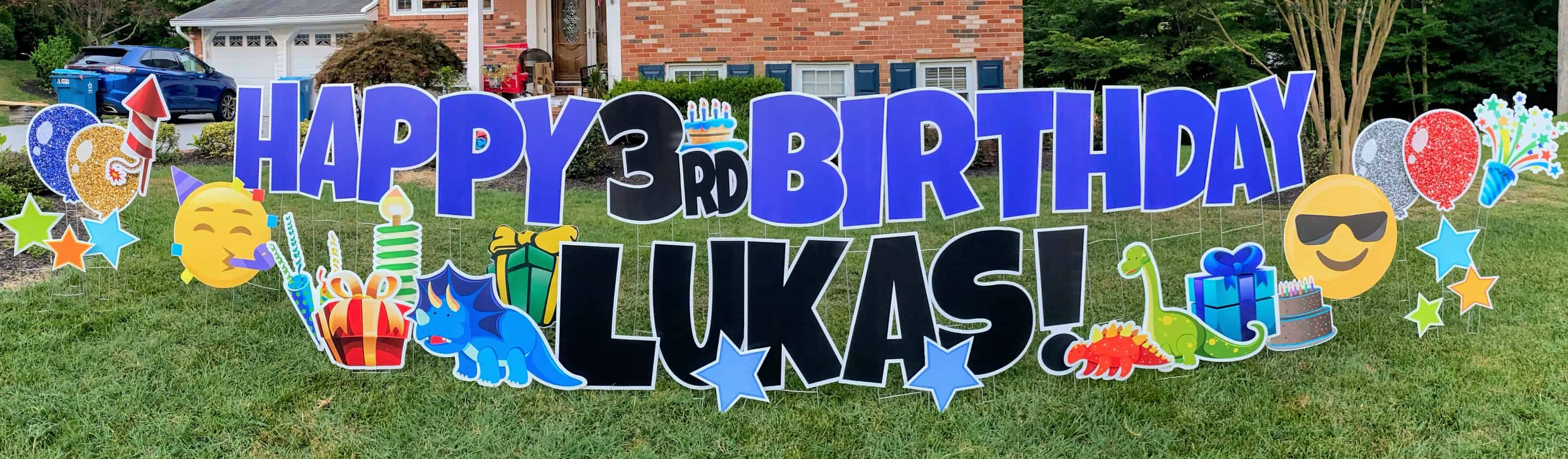 Northern Virginia - springfield virginia yard card signs for birthdays